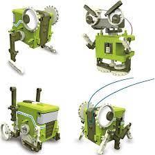 Набор для исследования Конструктор Робот-старикашка 4 в 1