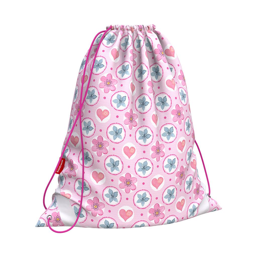 Мешок д/обуви EK Pink Flowers