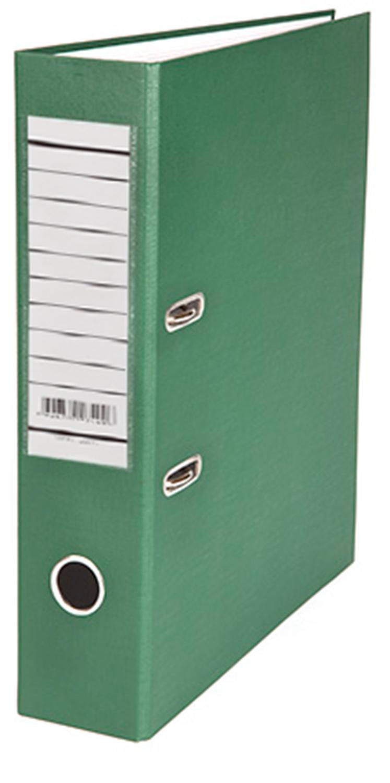 Папка-регистратор 70мм зеленый бумвинил