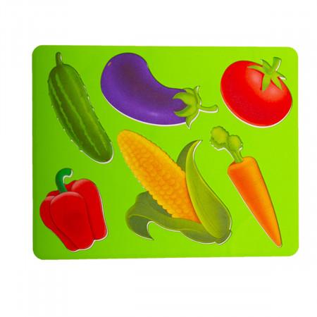 Творч Трафареты Овощи