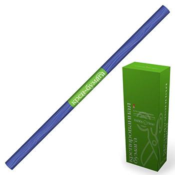 Творч Распродажа Бумага креповая 50*250см синяя