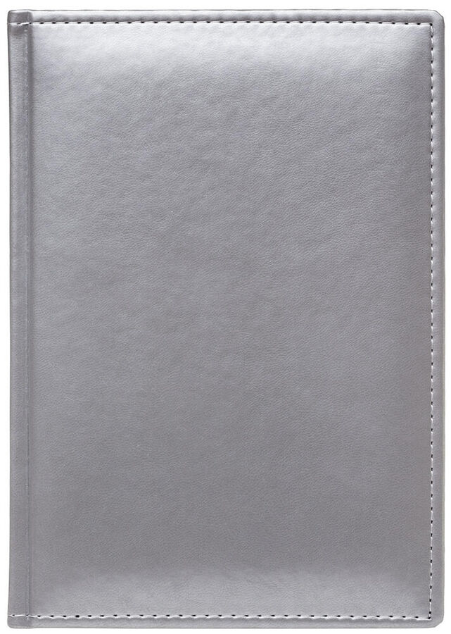 Ежедневник А5 2022г Caprice Thermo Silver серебро