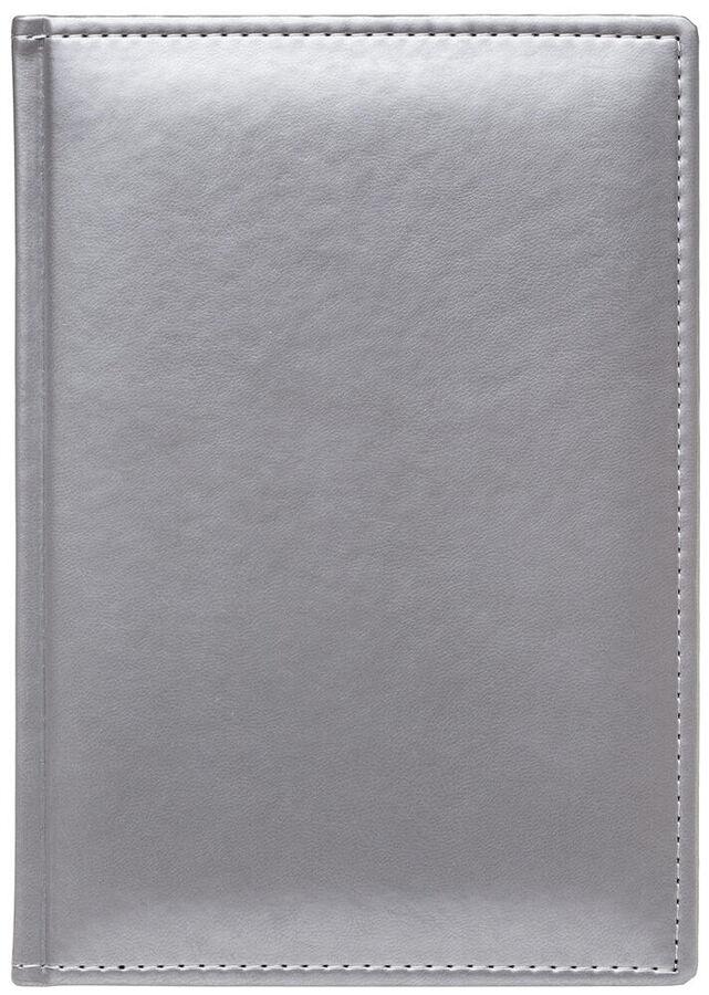 Ежедневник А5 2022г Caprice Thermo Metallic серебро