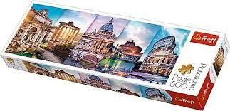 Пазл 500 Trefl 29505 Путешествие в Италию / Фотоиллюзии панорамный