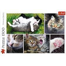 Пазл 1500 Trefl 26145 Кошки-коллаж