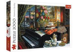 Пазл 2000 Trefl 27112 Звуки музыки