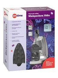Микроскоп 750х, 3 объектива, держатель для смартфона, аксессуары