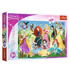Пазл 100 Trefl 16417 Очаровательные принцессы