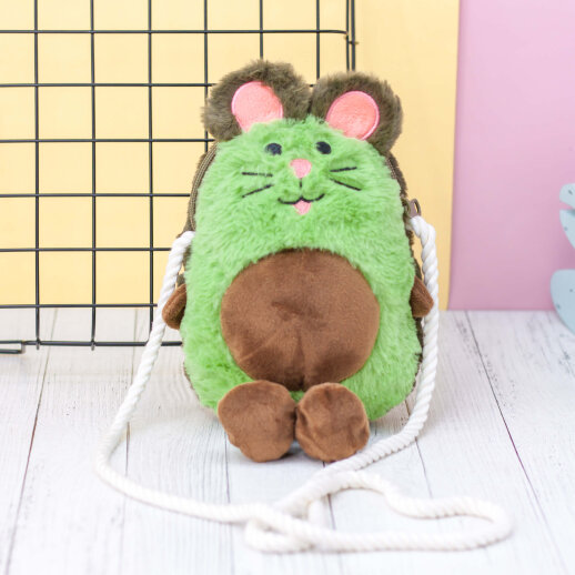 Рюкзак детский Алеф Mouse-avocado green авокадо