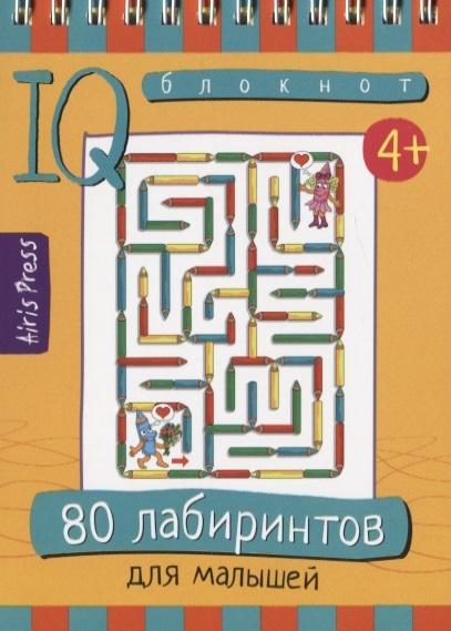 Умный блокнот. 80 лабиринтов для малышей 4+