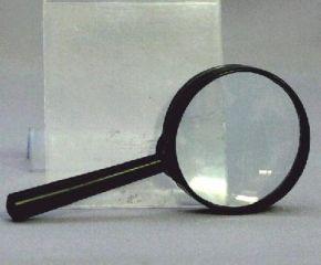 Лупа 50 мм Glass пласт.