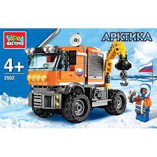 Конструктор Арктика: Вездеход-кран 168дет.