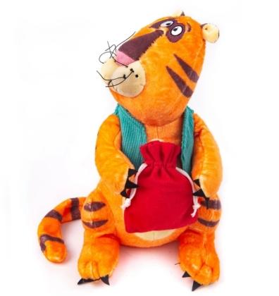 Мягконабивная Тигр Босс 30см