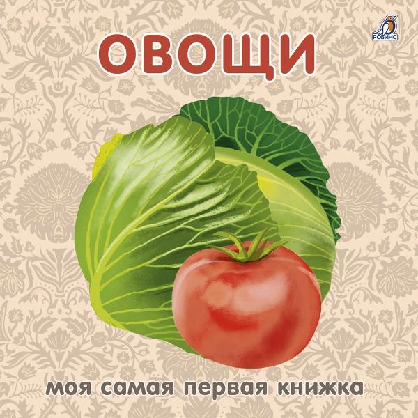 Овощи: книжка - картонка