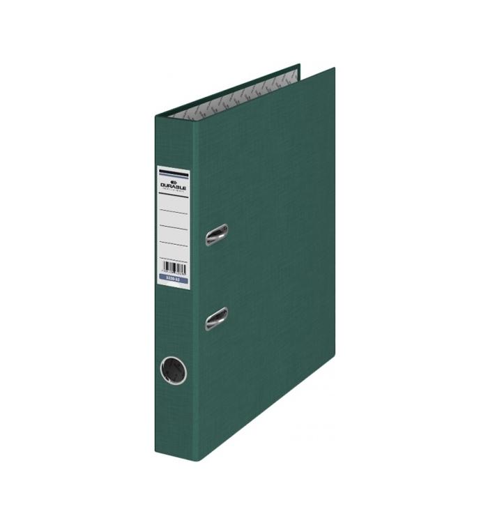 Папка-регистратор 50мм зеленый темно бумвинил