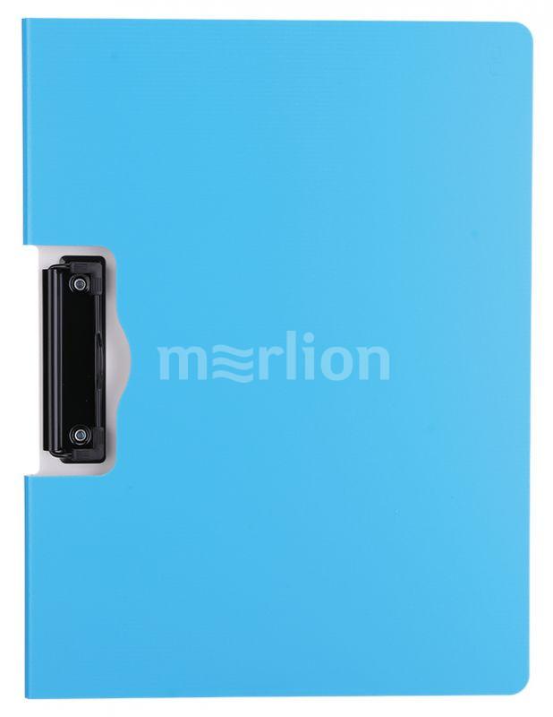 Папка-планшет А4 двойной пластик ассорти горизонтальный