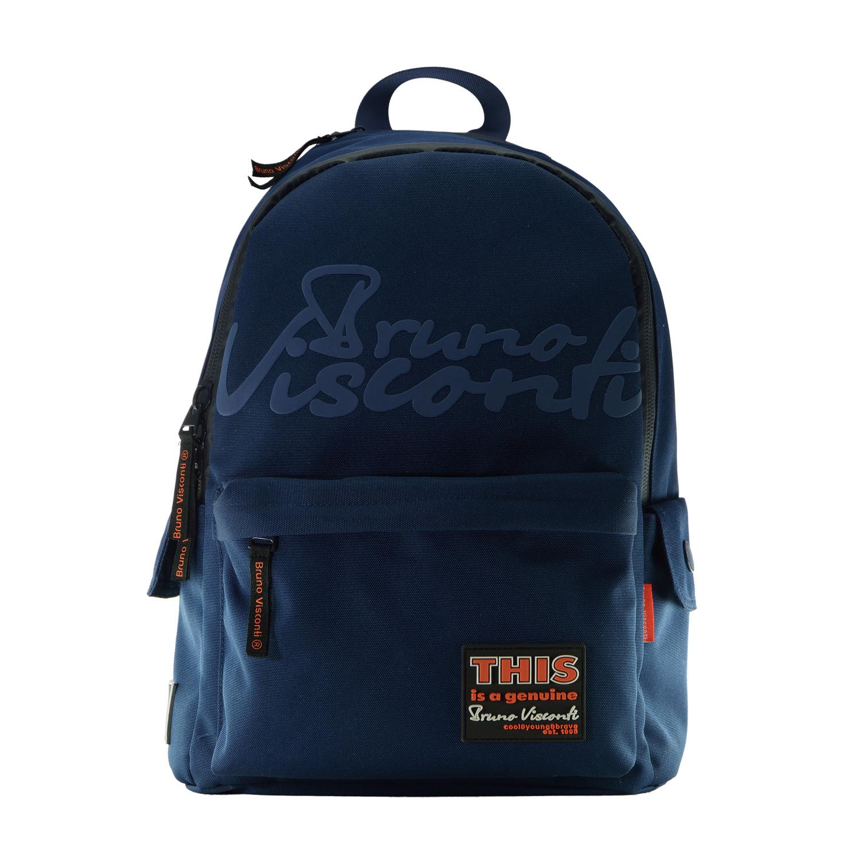 Рюкзак молодежный Bruno Visconti Classic синий