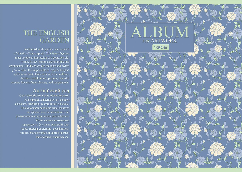 Альбом д/рис 40л спир Charming garden