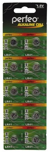 Батарейка Perfeo Aakaline Cell 392A AG3 (блистер) таблетка