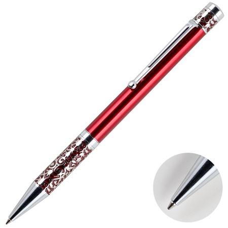Ручка подар. Marinella шариковая корп:красный карт футляр