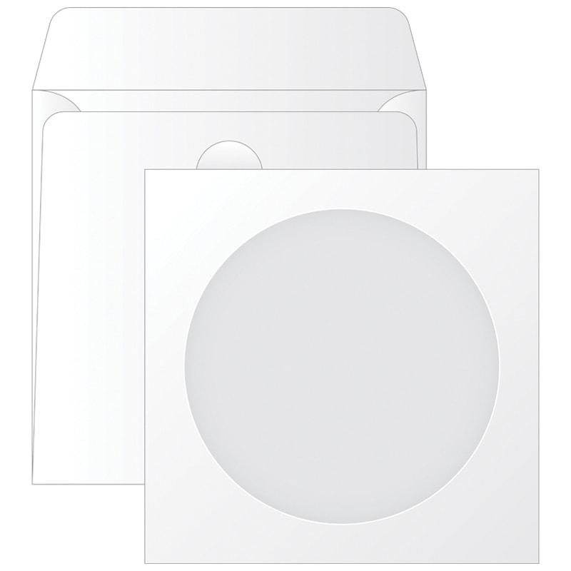 Конверт 125х125 для CD с окном, декстрин KurtStrip