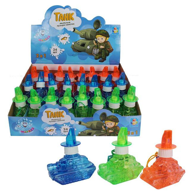 Мыльные пузыри 80мл Мы-шарики! в виде кораблика, со свистком