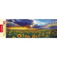 Пазл 90 Панорама Подсолнухи
