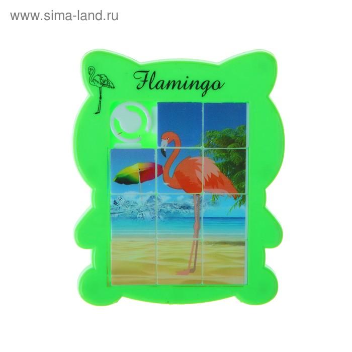 Головоломка-пятнашка Фламинго микс