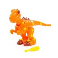 Конструктор Динозавр Тираннозавр 40 эл. пластик