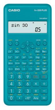 Калькулятор научный 10+2 разр. Casio синий 181 функция