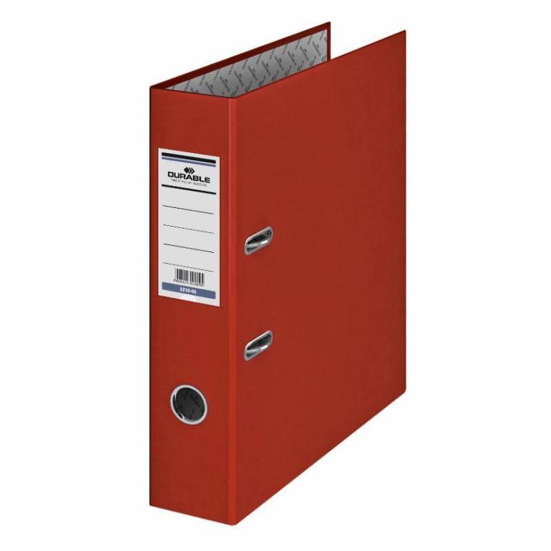 Папка-регистратор 70мм красный бумвинил