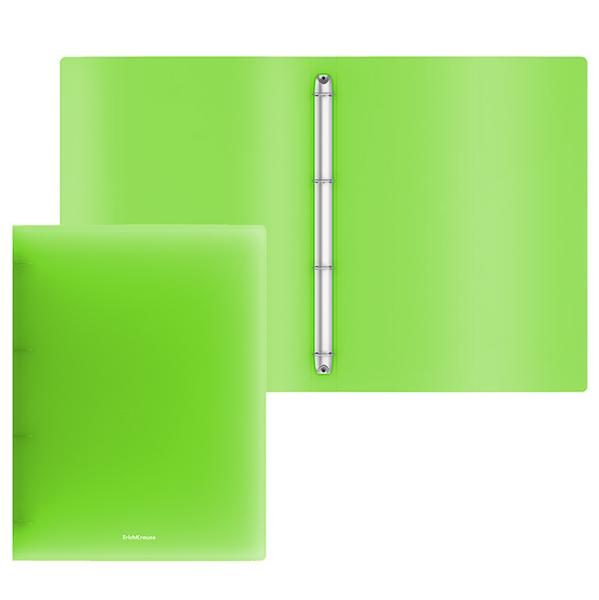 Папка с 4 кольцами 35мм EK зеленый