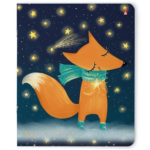 Тетрадь 48л кл Волшебные лисы