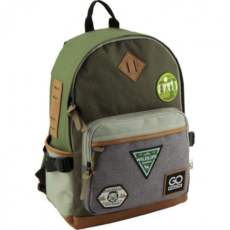 Рюкзак молодежный GoPack 135-1 Wildlife