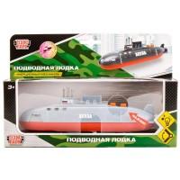 Подводная лодка Акула 20см металл. инерц. свет+звук