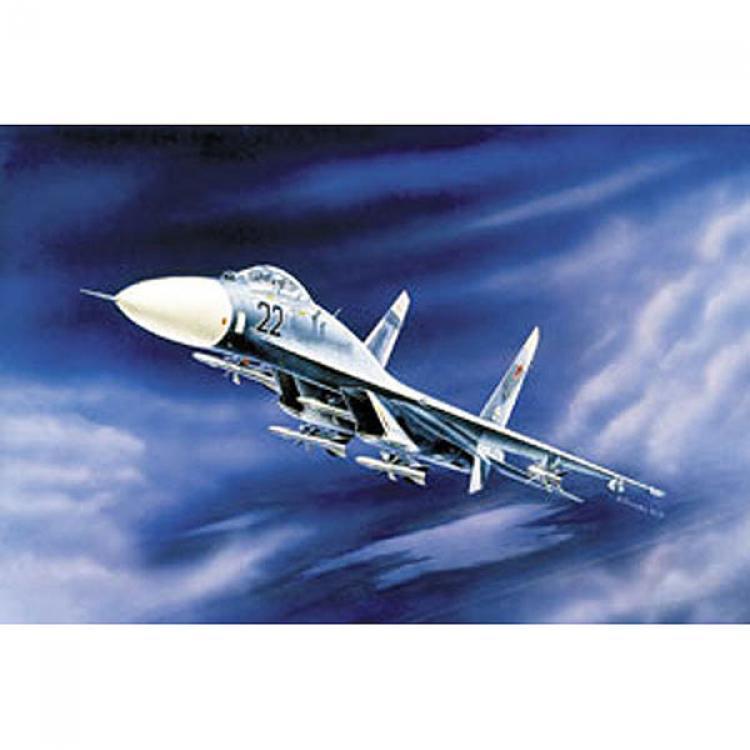 Сборная модель Советский истребитель завоевания...в воздухе Су-27 1/72