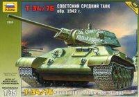 Сборная модель Советский средний танк Т-34/76 обр.1942г. 1/35