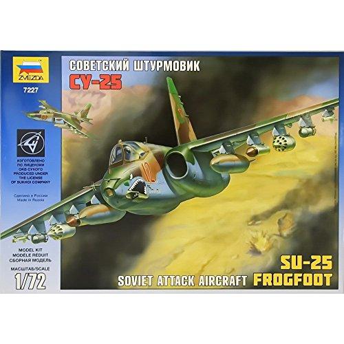 Сборная модель 7227 Су-25 Советский штурмовик 1/72