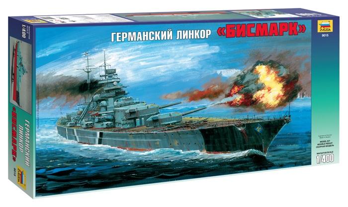 Сборная модель Германский линкор Бисмарк