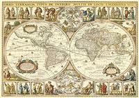 Пазл 2000 Step Историческая карта мира