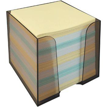Блок д/записей 90*90*90 Proff цв. бумага в пл/уп