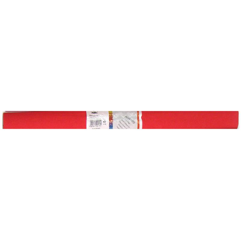 Творч Бумага креповая 50*250см красная