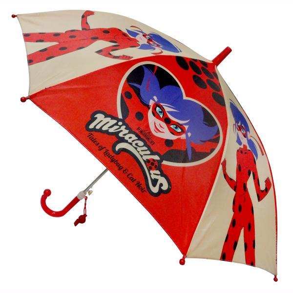 Зонт детский Леди баг диам. 45см, со свистком