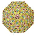 Зонт детский Котики 48см полуавтомат со свистком