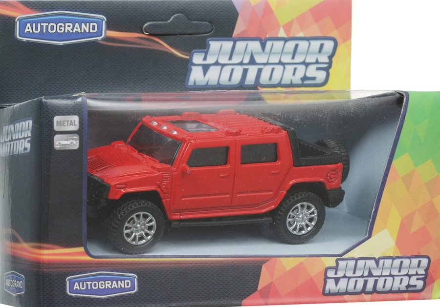 Машина USA HEAVY ALLROAD 1:36 11см