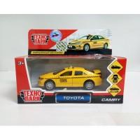 Машина Toyota Camry Такси 12см, открыв. двери и багажник, инерц.