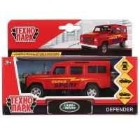 Машина Land Rover Defender Спорт 12см, металл, открыв. двери, инерц