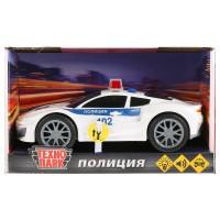 Машина Спорткар Полиция 19см пластик, свет+звук