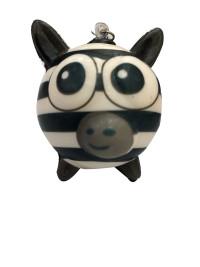 Антистресс Мммняшка squishy (сквиши) шарики-звери Зебра