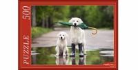 Пазл 500 Собаки с зонтом